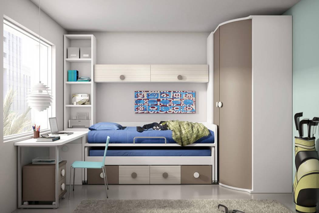 Dormitorios de estilo por muebles san francisco madrid homify - Muebles san francisco ...