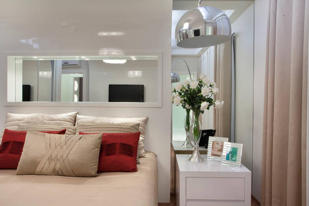 Apartamento Jatobá Designer de Interiores e Paisagista Iara Kílaris Quartos modernos