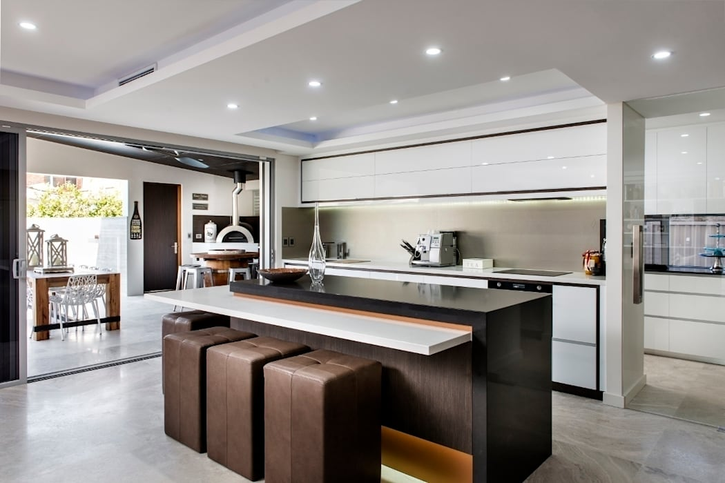 Kitchens by Moda Interiors, Perth, Western Australia Modern style kitchen by Moda Interiors Modern