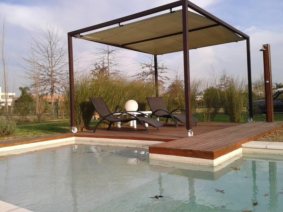 mobiliario para exteriores jardines de estilo por el