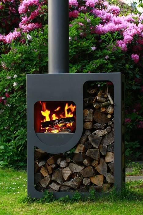 Kaminöfen, Feuerstellen und Öfen von Soutschek Ofenfeuer Rustikal