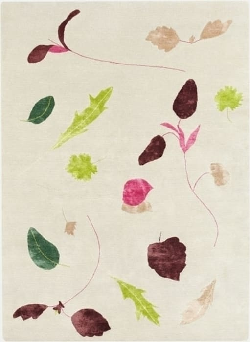 Deirdre Dyson Salad Days Hand Knotted Wool And Silk Rug Di