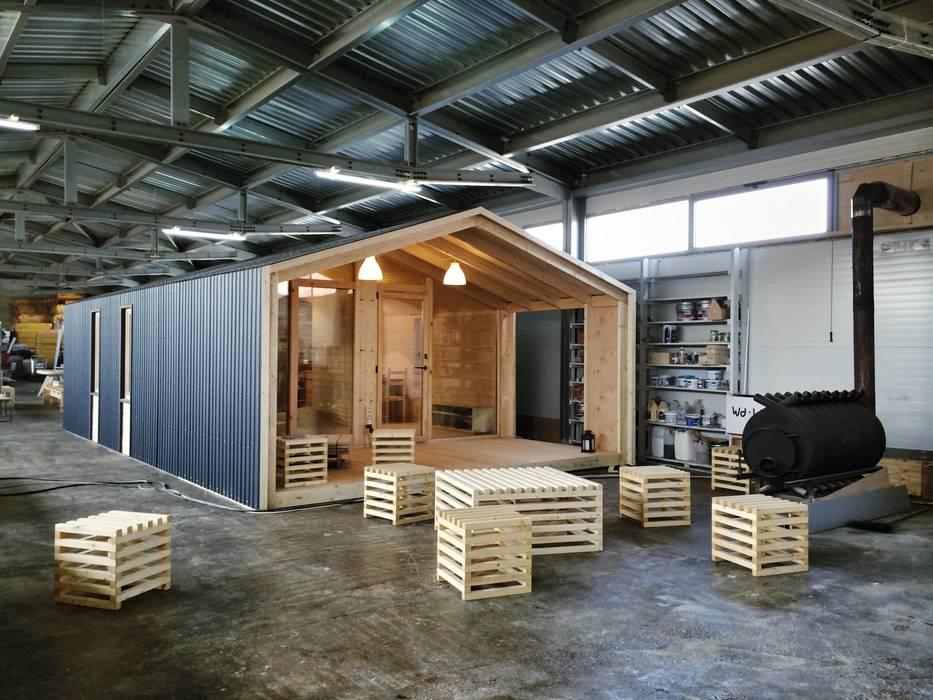 ДубльДом: Дома в . Автор – BIO - architectural Bureau of Ivan Ovchinnikov, Скандинавский