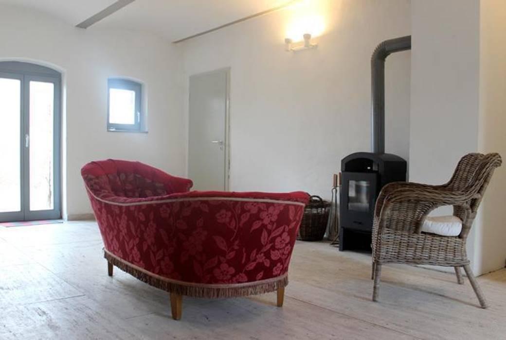 Ferienscheune Barnimer Feldmark Wohnzimmer Von Zerr Hapke