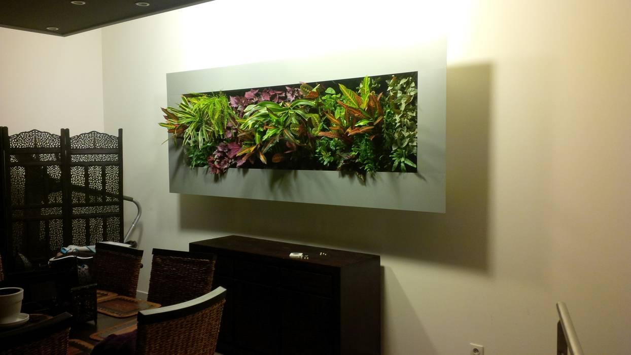 Cadre végétal intérieur VERTICAL FLORE Vertical Flore Paysagisme d'intérieur