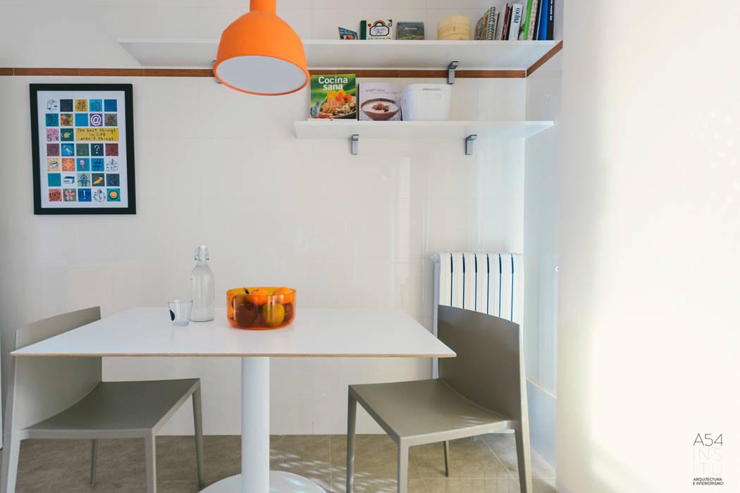 interiorismo en vivienda en Juan Pablo II de Zaragoza A54Insitu