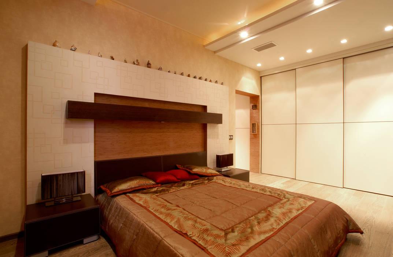 Спальная комната Дизайн студия Ирины Панасовской