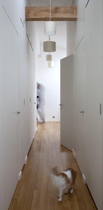 Dressing: Dressing de style de style Minimaliste par Atelier architecture située