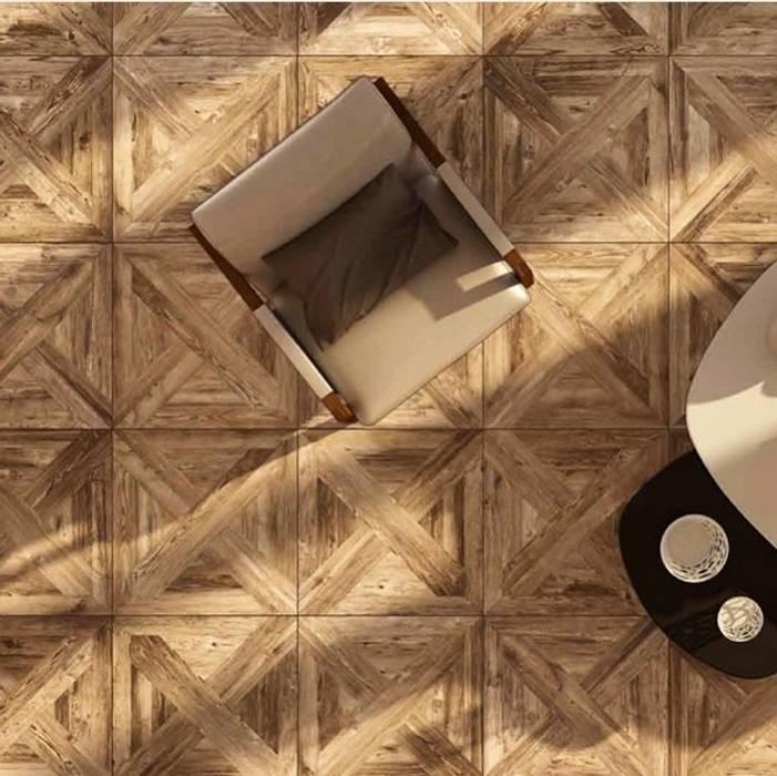 Plaza Yapı Malzemeleri – Ahşap Görününümlü İtalyan seramik:  tarz Teras