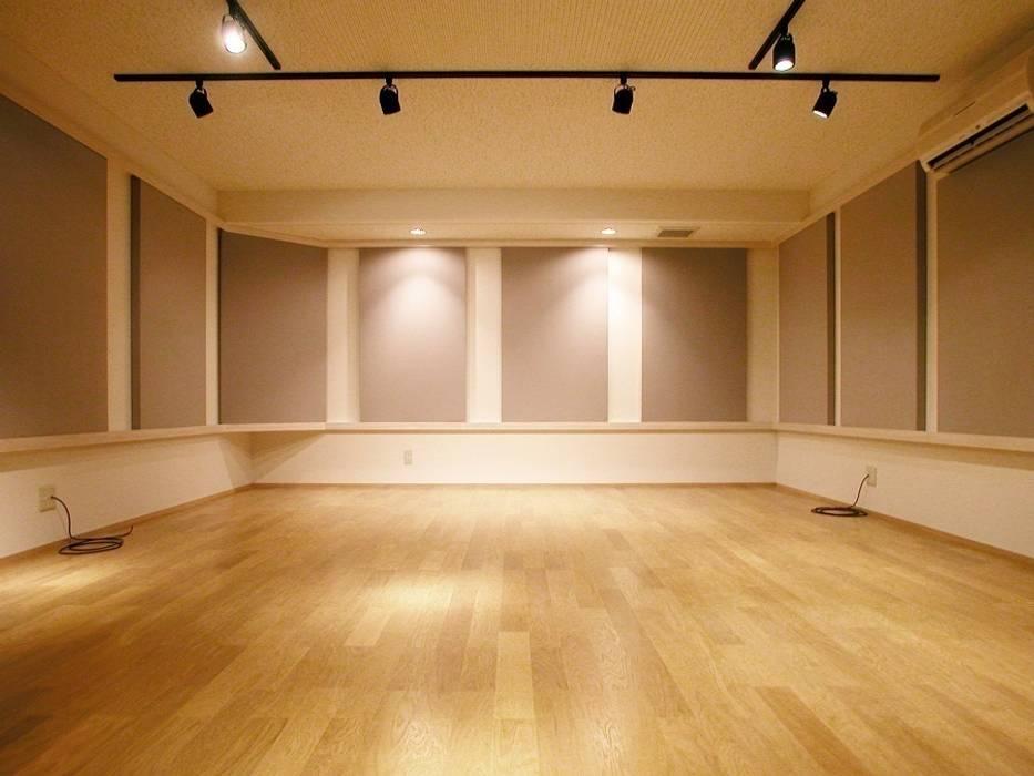 音楽スタジオ 株式会社エキップ オリジナルデザインの 多目的室