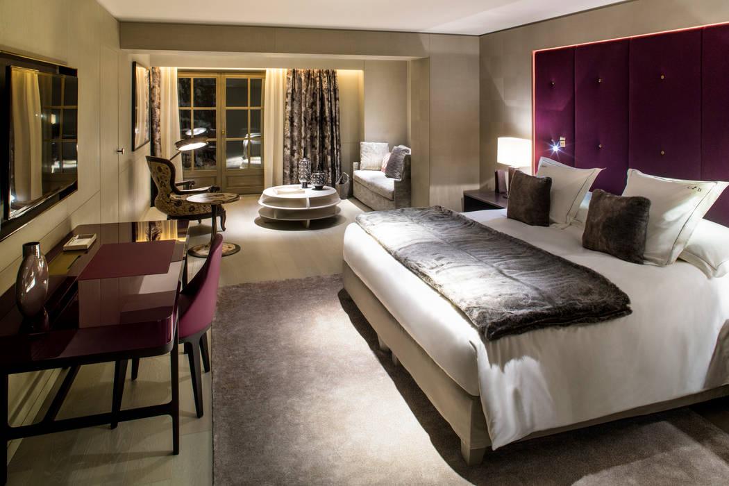 Cheval Blanc Hotel - Courchevel - Interior Design by Sybille de Margerie 2012: Hôtels de style  par Sybille de Margerie