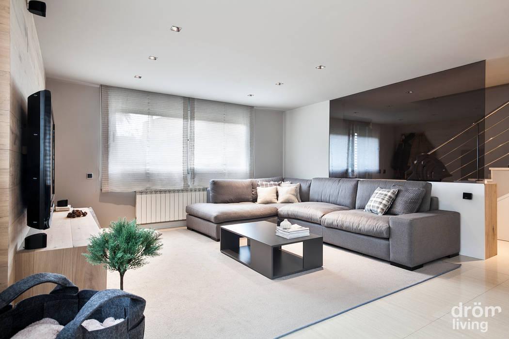 Proyecto Terrassa Dröm Living Salones de estilo escandinavo
