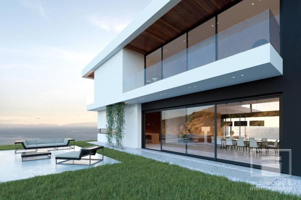 Море Вокруг. Архитектурное решение + Интерьер дома (1000м2) Дома в стиле минимализм от i-project Минимализм