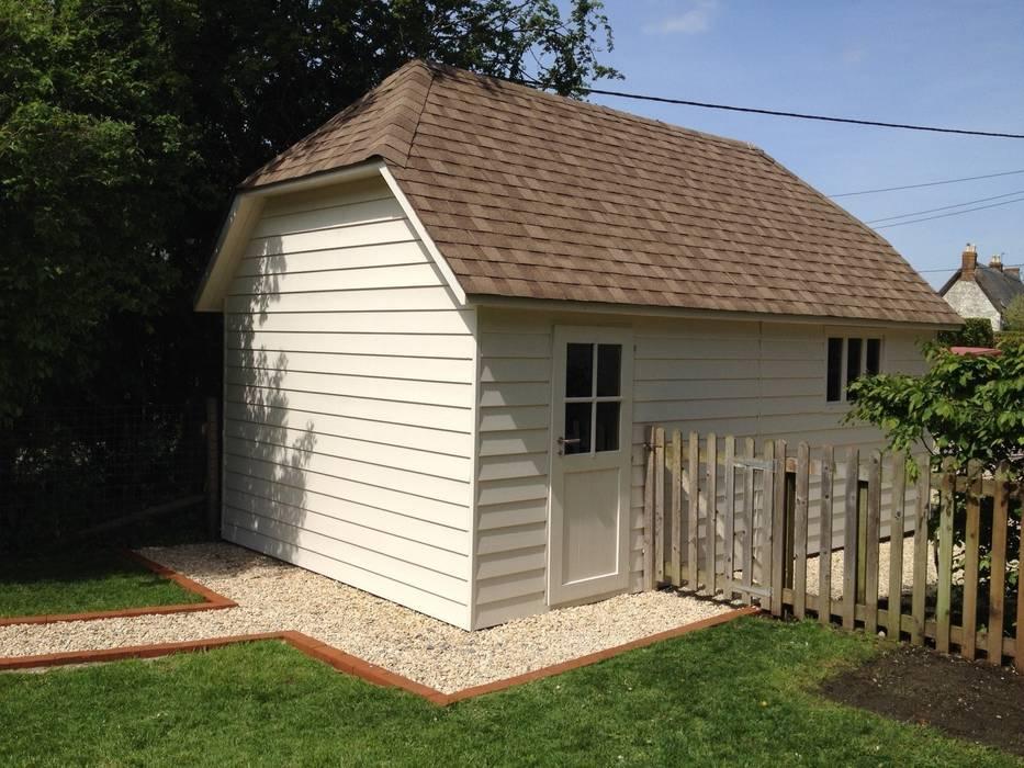 Prefabricated Garage by Garden Affairs Ltd, Country