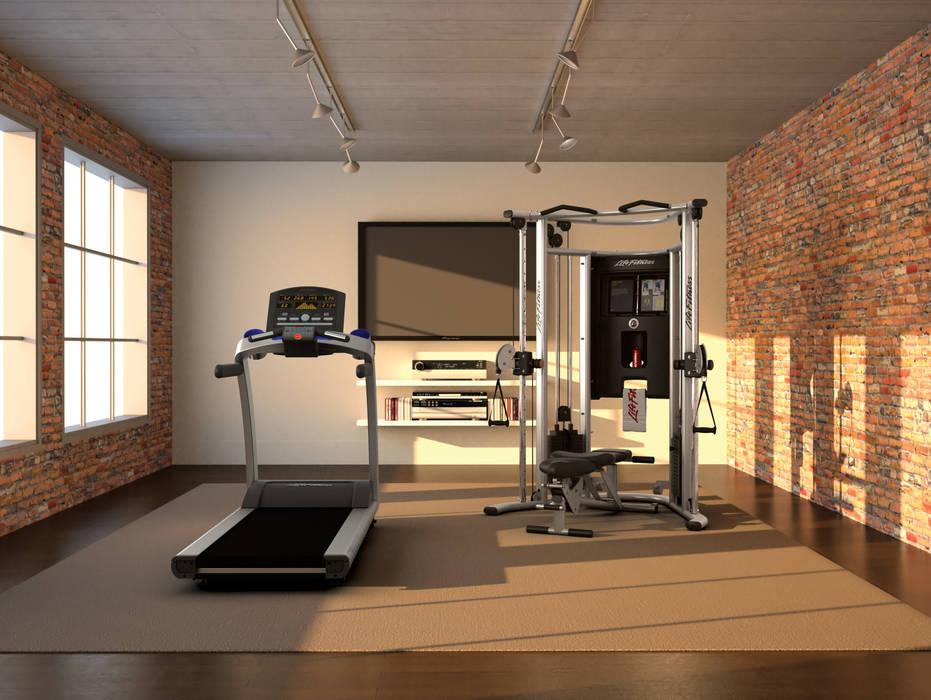 Ruang Fitness oleh GymCompany Bespoke