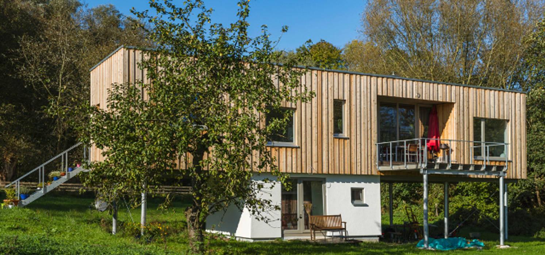 Moderne Holzhauser Hauser Von Neues Gesundes Bauen Homify