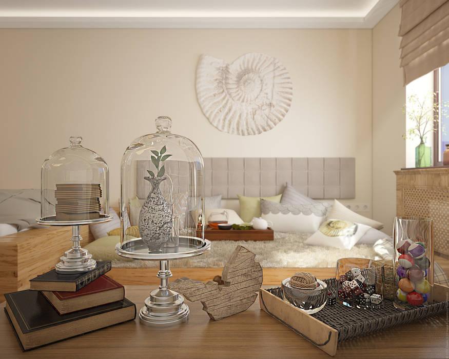 Экоквартира в Тропарево: Спальни в . Автор – «Студия 3.14»,