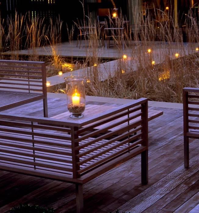 Balcon, Veranda & Terrasse modernes par Ecologic City Garden - Paul Marie Creation Moderne