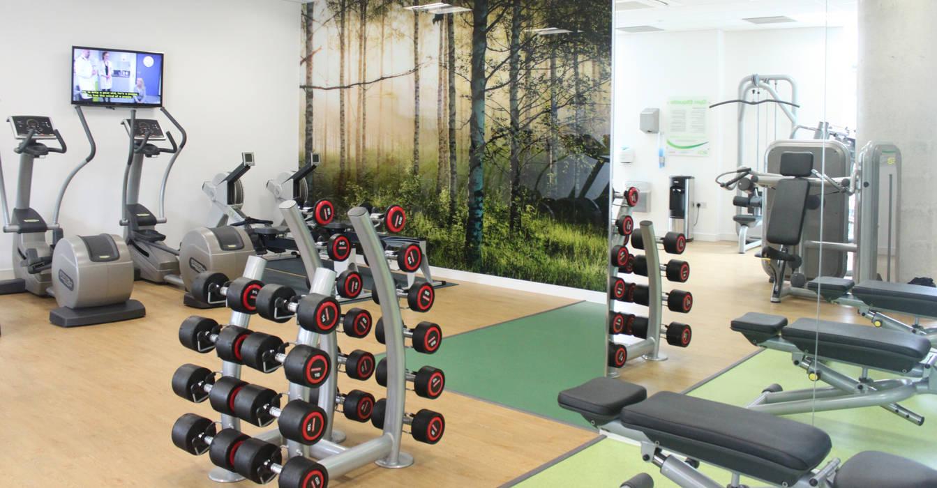 Ruang Fitness oleh Raw Corporate Health