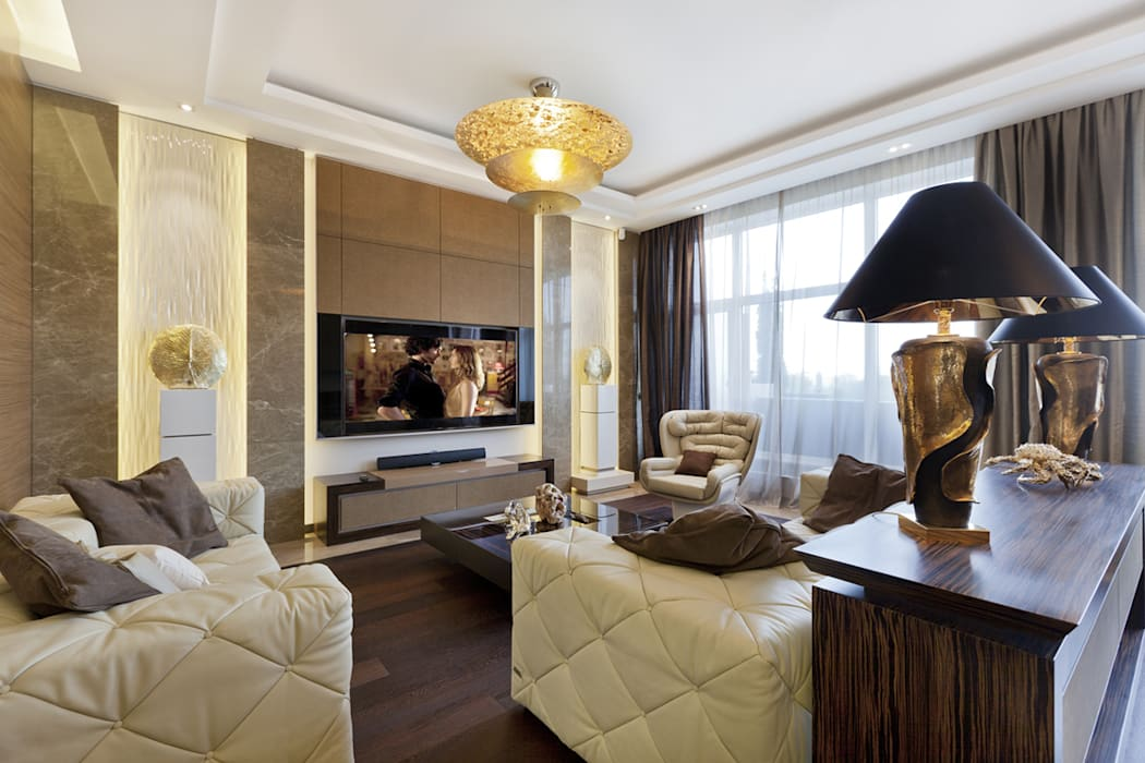 Living room by NG-STUDIO Interior Design