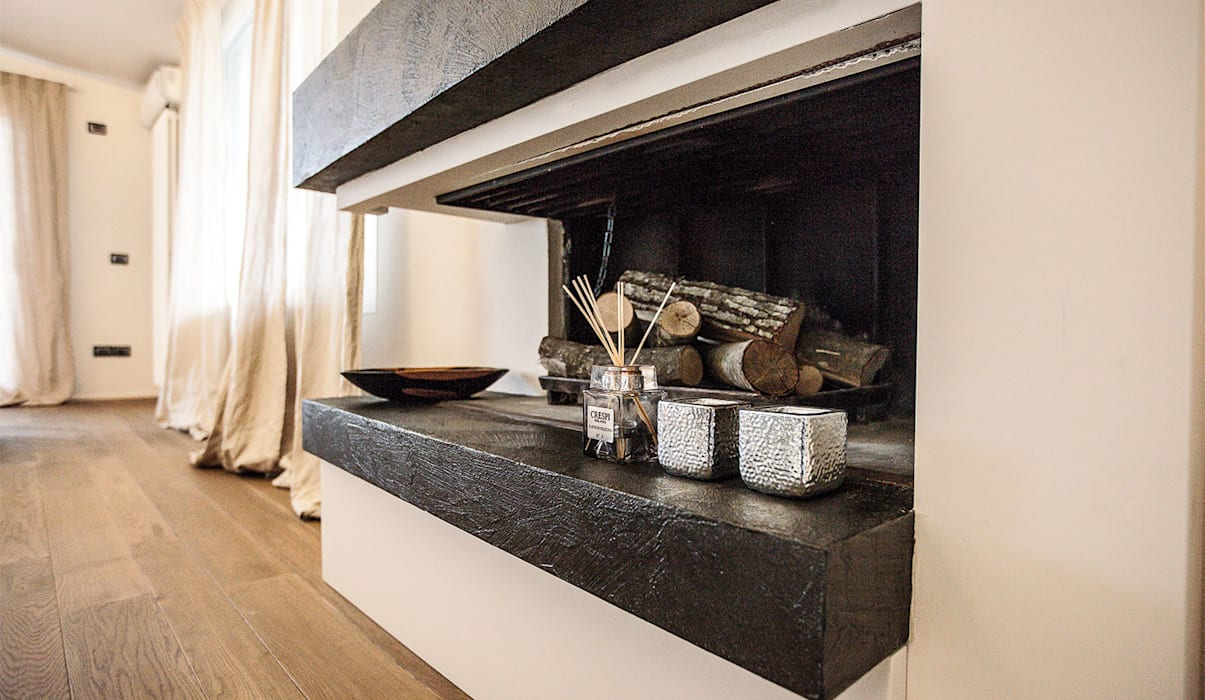 cristina zanni designer Living roomFireplaces & accessories