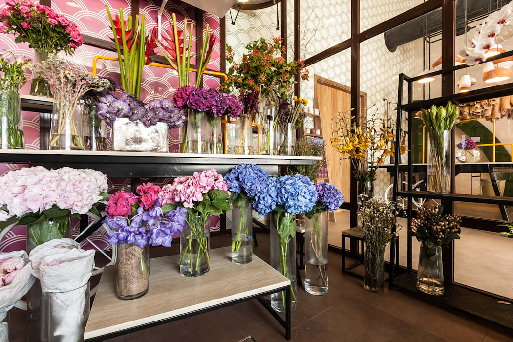 Moz - florist, Dubaï Dominique Herbillon & Edouard Augustin Commercial Spaces
