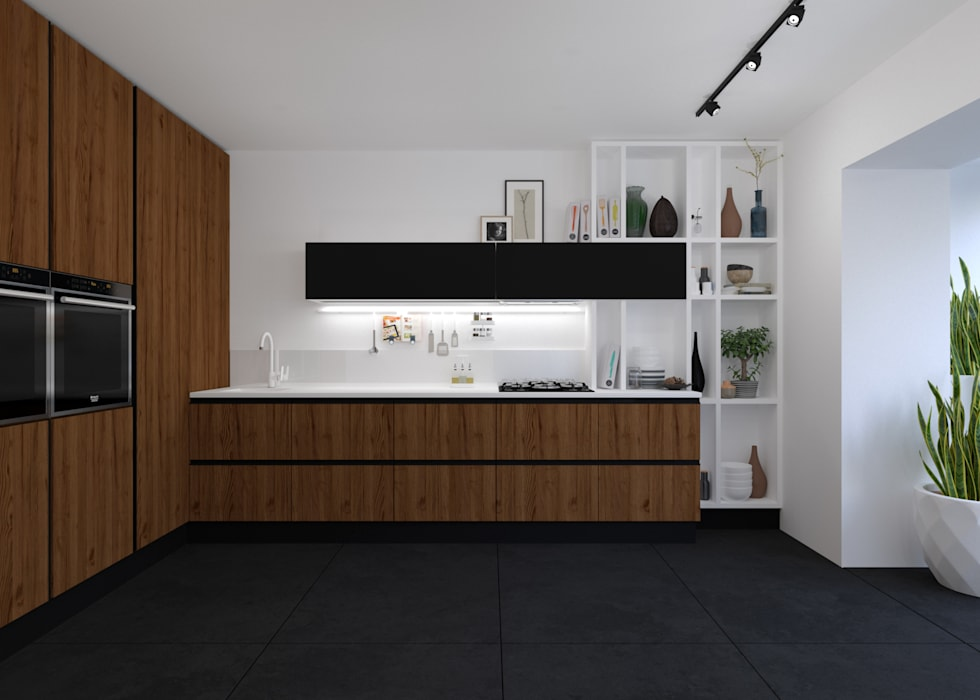 Кухня 3D GROUP Кухня в стиле минимализм