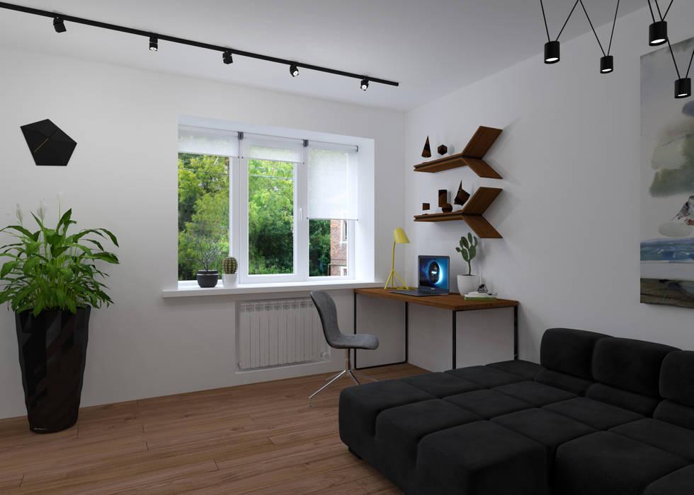 Гостиная 3D GROUP Гостиная в стиле минимализм