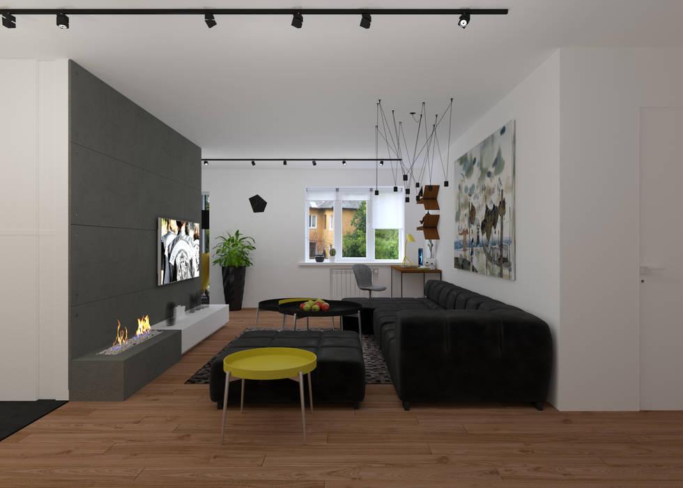 Гостиная: Гостиная в . Автор – 3D GROUP