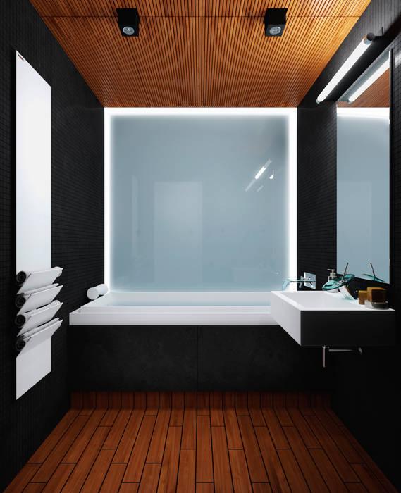 Ванная Ванная комната в стиле минимализм от 3D GROUP Минимализм