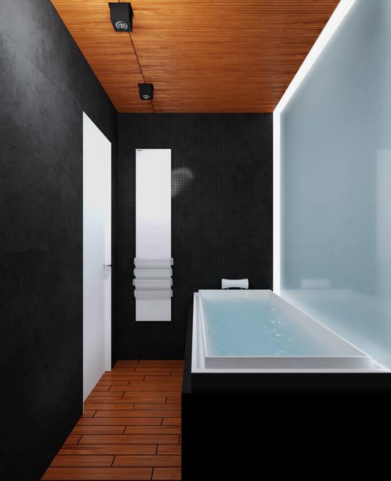 Ванная: Ванные комнаты в . Автор – 3D GROUP