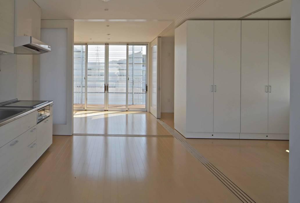 住宅(50㎡)内部 モダンデザインの リビング の 株式会社ヨシダデザインワークショップ モダン