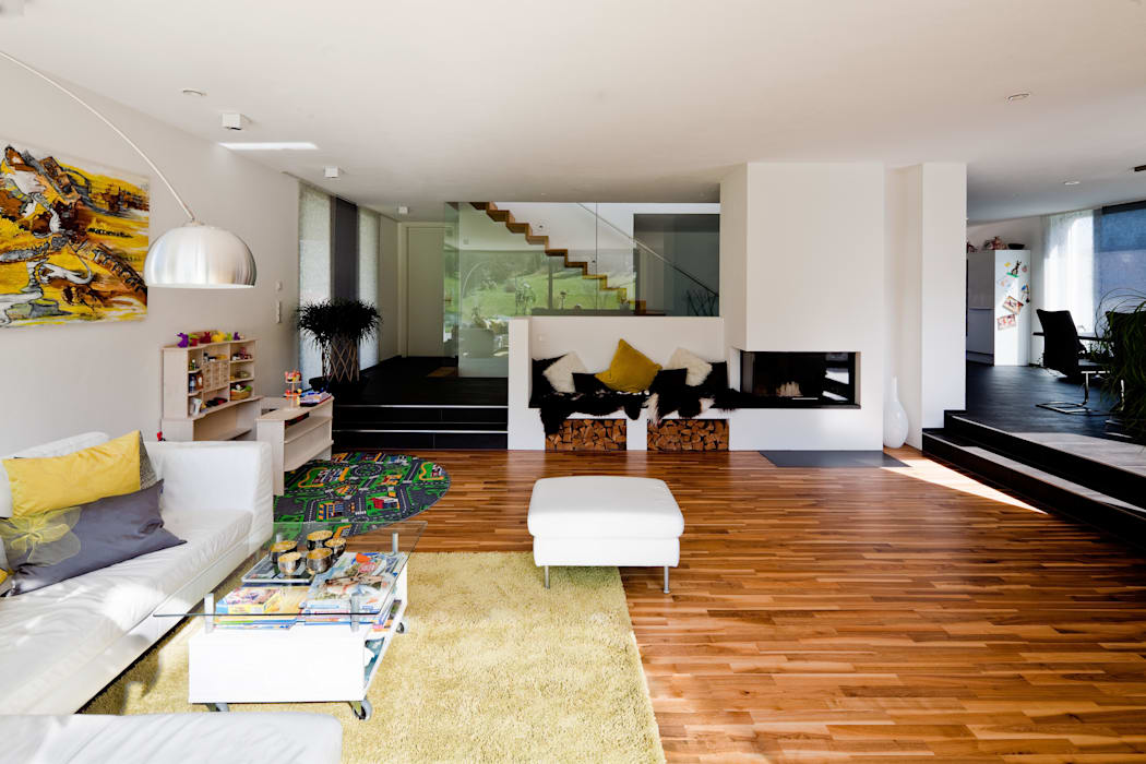 Salas de estilo moderno de brügel_eickholt architekten gmbh Moderno