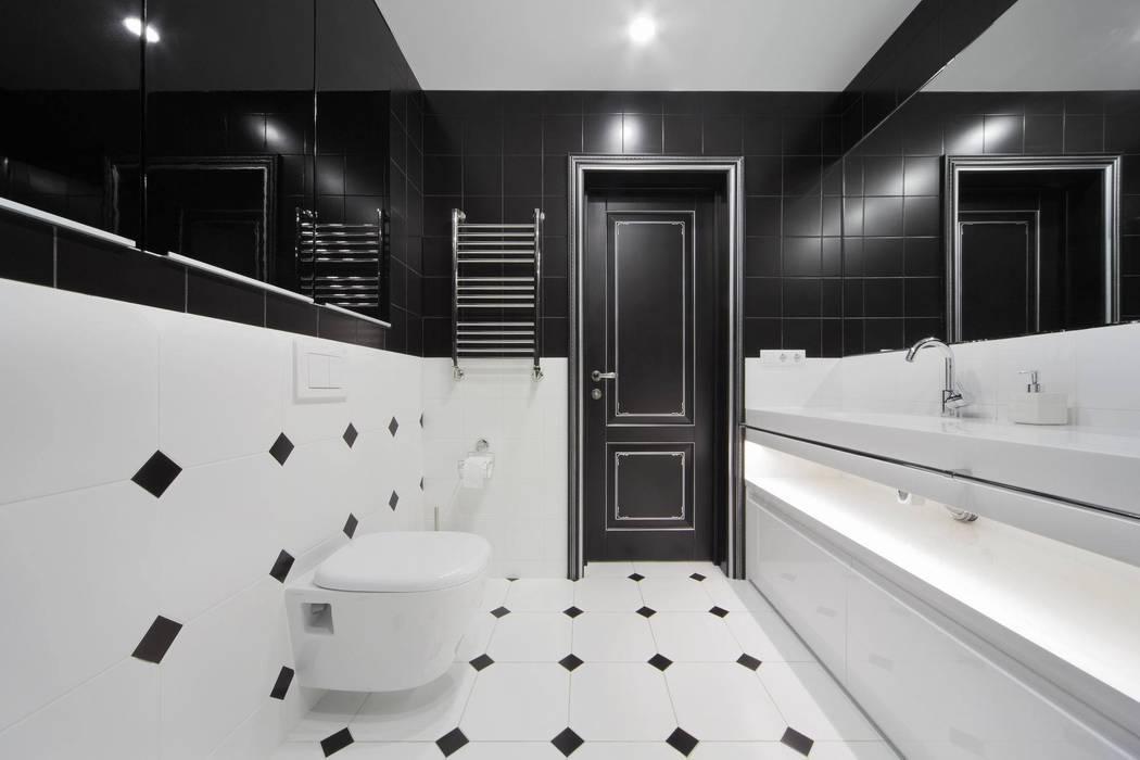 Ванная: Ванные комнаты в . Автор – Студия дизайна интерьера 'Градиз', Модерн