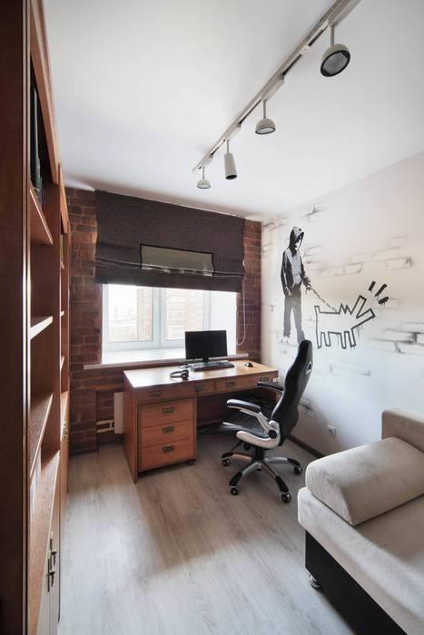Комната сына: Детские комнаты в . Автор – Студия дизайна интерьера 'Градиз'