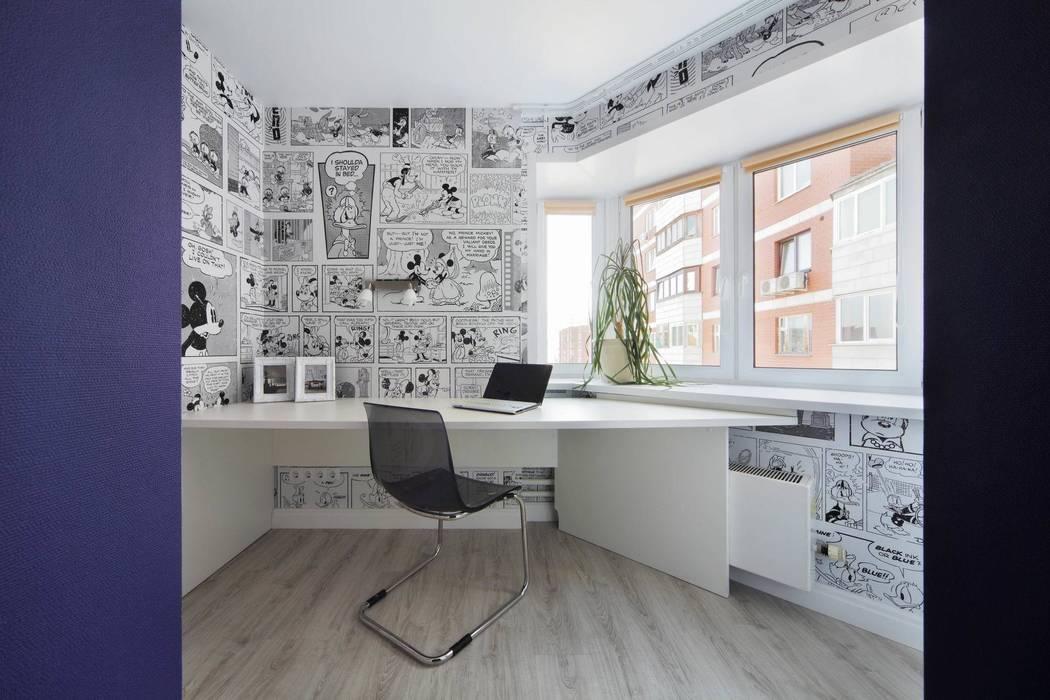 Комната дочек Детская комната в стиле модерн от Студия дизайна интерьера 'Градиз' Модерн