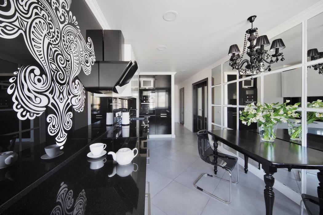 Кухня: Кухни в . Автор – Студия дизайна интерьера 'Градиз'