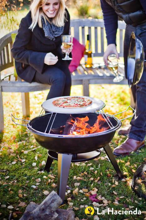 Pizza firepit La Hacienda Garden Fire pits & barbecues