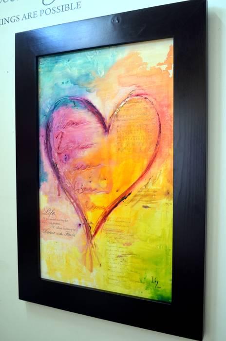 Love song: Estudios y oficinas de estilo  por Galeria Ivan Guaderrama, Minimalista Madera Acabado en madera