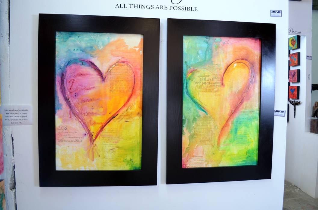 Love song de Galeria Ivan Guaderrama Moderno Madera Acabado en madera