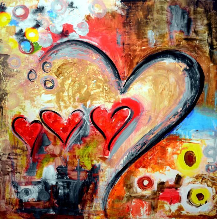 One love one de Galeria Ivan Guaderrama Ecléctico Madera Acabado en madera