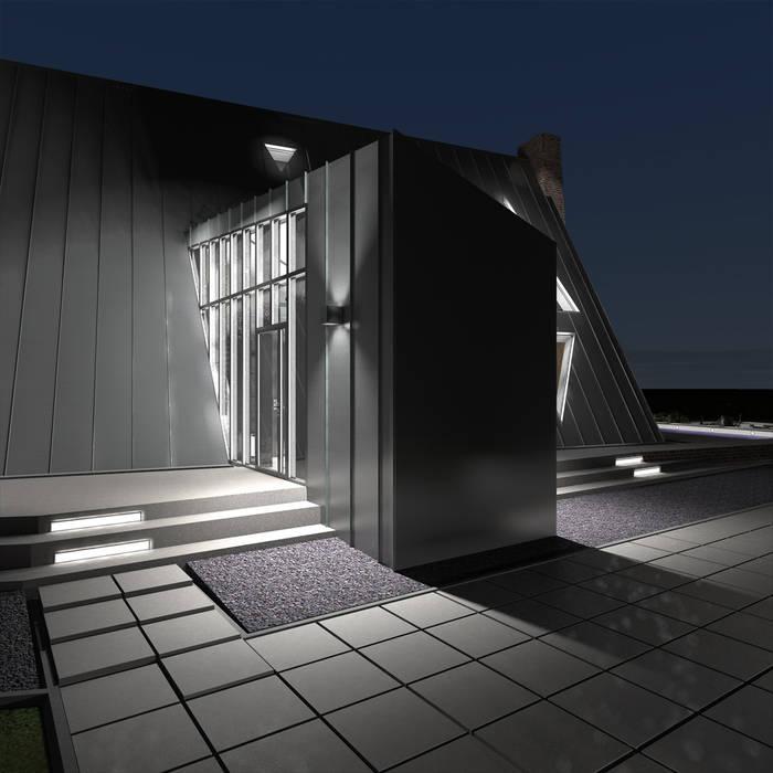 Casas de estilo minimalista de CHM architect Minimalista