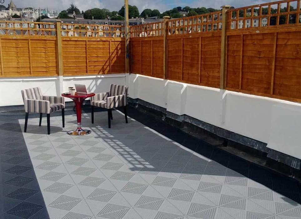 Roof Terrace Flooring By Ecotile