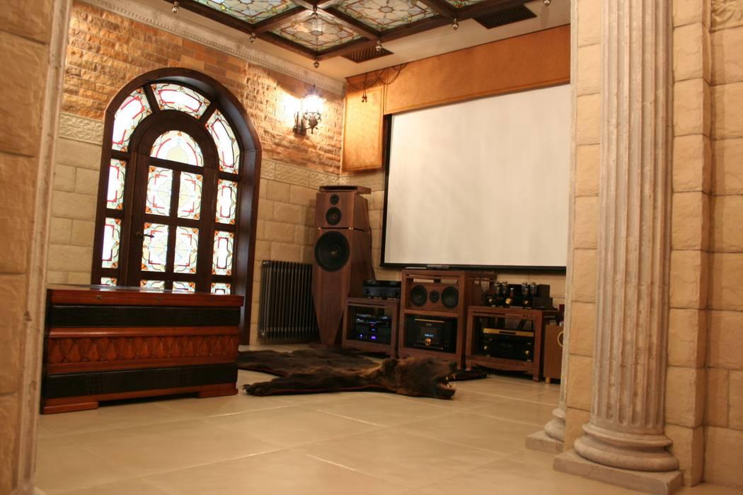 квартира для отдыха Гостиная в классическом стиле от дизайн студия Астрова Классический