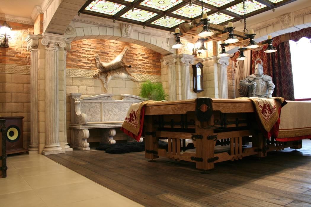 квартира для отдыха: Гостиная в . Автор – дизайн студия Астрова, Классический