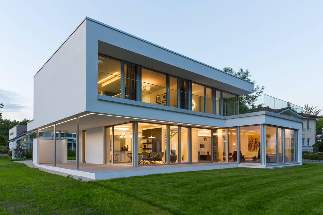 Musterhaus Bad Vilbel Einfamilienhaus Von Arkitura Gmbh Homify