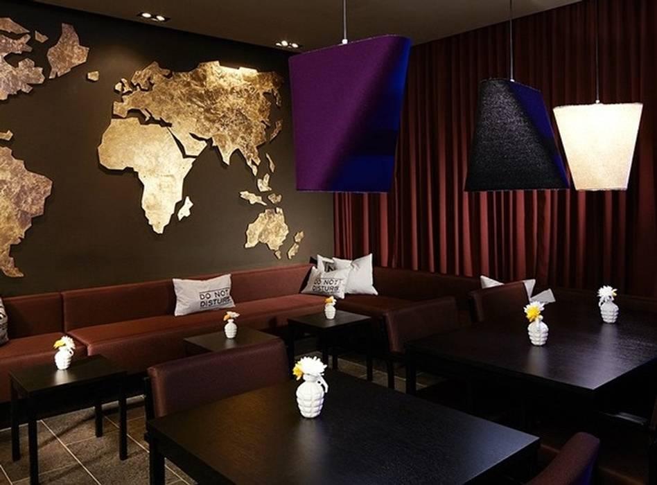 Des luminaires chaleureux et originaux! : Hôtels de style  par NEDGIS