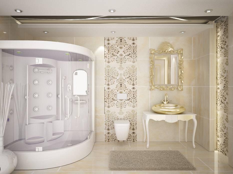 Sinar İç mimarlık – Banyolar ve Wc:  tarz Banyo