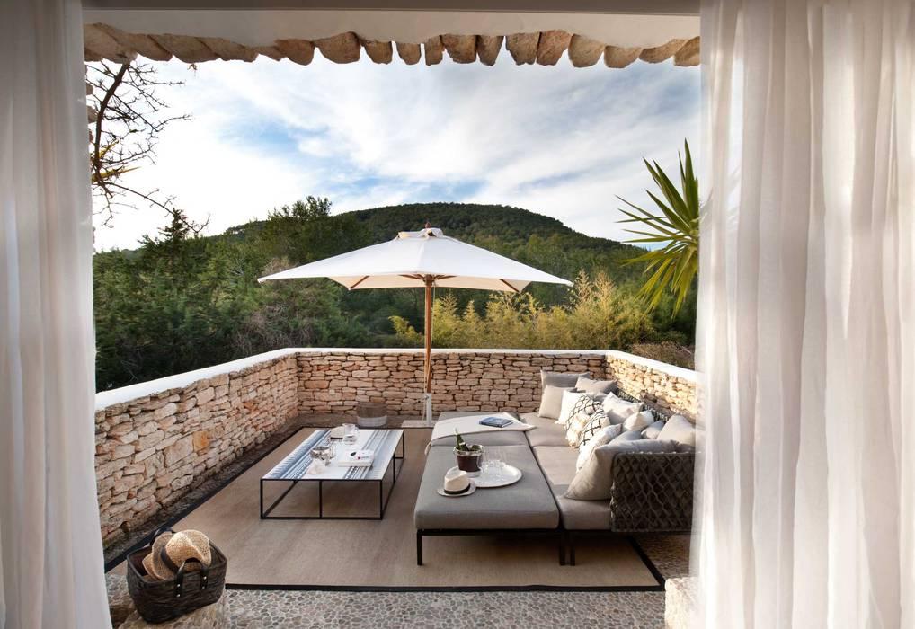 Bedroom 3 Terrace by TG Studio Mediterranean