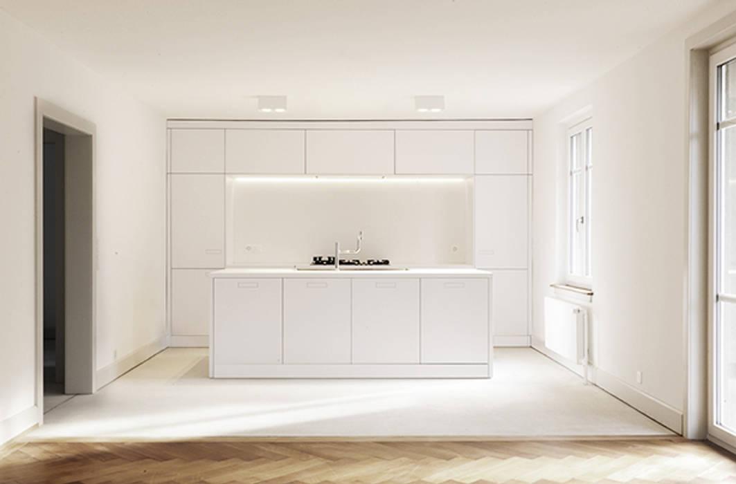 Cuisine minimaliste par Wagner Vanzella Architekten Minimaliste